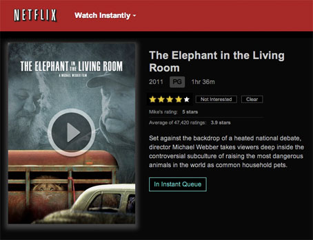 The elephant in the living room a michael webber film netflix for The elephant in the living room watch online